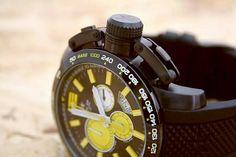 METAL Chromometrie watch