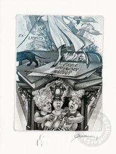 Ex Libris by Hedwig Pauwels
