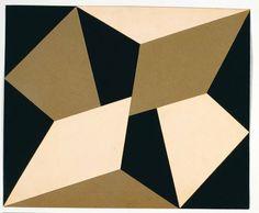 Planos em Superfície Modulada - LYGIA CLARK,1957. Illusion Kunst, Illusion Art, Geometric Quilt, Geometric Art, Modern Art, Contemporary Art, Shape Art, Barn Quilts, Op Art
