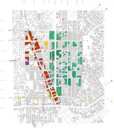 FarmLab Corridors Plan (Group Studio Work; Professor Jason Austin)
