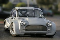 """Kimini - The rear engine H22 Mini """"kit"""" car - wish I had the time and resources to build something like this."""