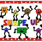 Free math clip art and shape up poster featuring shape characters. This set includes: circle square rectangle triangle octagon star pentagon  Each ... Math Clipart, Classroom Clipart, Classroom Freebies, Classroom Fun, Classroom Displays, Kindergarten Math, Teaching Math, Teaching Ideas, Math Teacher