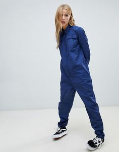 Search for boiler suit at ASOS. Shop from over styles, including boiler suit. Discover the latest women's and men's fashion online Suit Fashion, Fashion Outfits, Stylish Scrubs, Asos, Cotton Jumpsuit, Boiler Suit, Down Puffer Coat, Playsuit Romper, Rain Wear