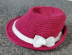 Gehäkelter Bast Hut Kiss Me Tiger Häkeln Pinterest Crochet