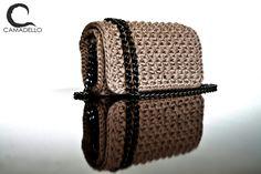 Caramel Handmade Crochet Bag !!!