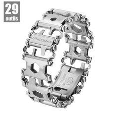 Bracelet Leatherman TREAD multifonction acier