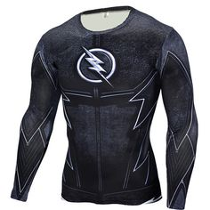 GearKong - Premium Gear Flash Long Sleeve Compression Shirt #shirt #dc #GearKong #clothing #marvel #superhero #other #LongSleeve #CompressionShirt