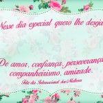 Cartão para Dia Internacional da Mulher 3