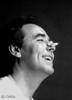Joan Manuel Serrat, imatges que evoquen cançons. Hoy puede ser un gran día.