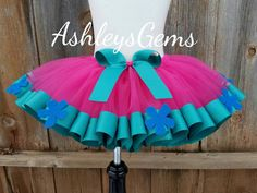 Trolls Tutu, Trolls Birthday Dress, Birthday Outfit, Trolls Skirt, Poppy Tutu, Trolls Birthday Party, Trolls Shirt, Trolls Birthday, Tolls by AshleysGemsShop on Etsy https://www.etsy.com/listing/488611784/trolls-tutu-trolls-birthday-dress