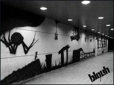 Limbo Street Art #gaming #limbo #street #art https://itunes.apple.com/us/app/limbo-game/id656951157?mt=8&at=10laCC