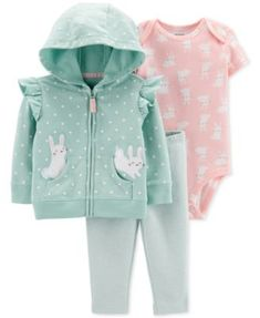 s Bunny Jacket Bodysuit Striped Leggings Set stripedleggings Carter&;s Bunny Jacket Bodysuit Striped Leggings Set stripedleggings Carter&;s […] Clothing Girl carters Baby Outfits, Toddler Outfits, Kids Outfits, Cotton Leggings, Striped Leggings, Carters Baby Girl, Baby Gap, Baby Girls, Dress With Sneakers