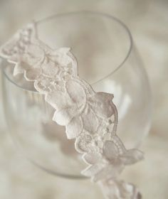 Vintage Inspired Floral Lace Tieback Baby Photo by ItsyBitsyBlooms, $12.00