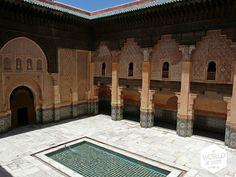 De Ali Ben Youssef Medersa. Ik had geen van de bezochte #medersa's, babs, dars of paleizen in #Marrakech willen missen, maar deze het allerminst. Een ticket kost 60 Dirham en geeft je ook toegang tot het Musee de Marrakech en de Koubba Ba'adiyn. #Marokko #Morocco #BenYoussef #reizen