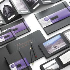 Moleskine is going all black with its latest collection. Moleskine Black is a new collection of books designed for photos, scrapbooking, art, and of course, doodling. Moleskine is also complementing the books with fluorescent gel pens and pencils that are perfect for those blacked-out pages.