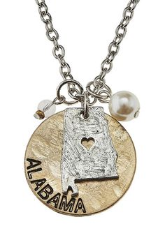 State Pride Necklace in Alabama