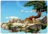 Painting - A selection of Roger's artwork featuring his trademark floating islands, exotic landscapes and fantasy dragons and beasts. Much of this work is featured in the three publications, Views, Magnetic Storm and Dragon's Dream. http://www.rogerdean.com