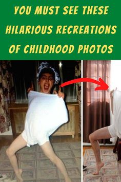 #See #Hilarious #Recreations #Childhood #Photos Vintage Hairstyles, Trendy Hairstyles, Bob Hairstyles, Lemon Skin Lightener, Edgy Short Haircuts, Evening Gowns With Sleeves, Turkish Women Beautiful, Slim Waist Workout, Valentine Cake