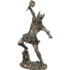Thor Statue - WU-1342 by Medieval Collectibles