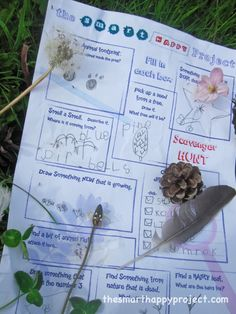 Find a star shape. A list of Smart and Happy Scavenger Hunt clues that connect children and their families to nature Scavenger Hunt Clues, Nature Scavenger Hunts, Nature Hunt, Nature Study, Animal Footprints, Preschool Education, Nature Journal, Draw Something, Summer Kids