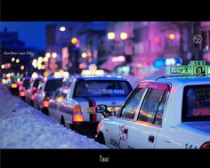 Hirosaki Taxi.   © Glenn Waters Japan.. Over 47,000  visits to this photo. Thank you!