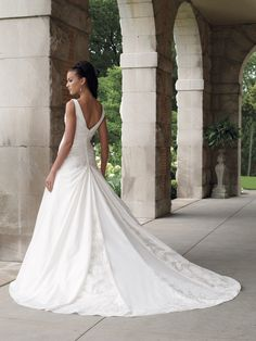 Back is stunning but I think the lace-up would be even prettier.
