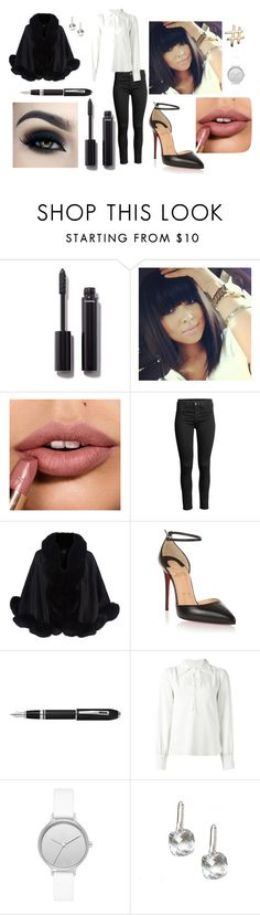 """""""January 27th"""" by nicky-jane-neary on Polyvore featuring Chanel, Too Faced Cosmetics, Harrods, Christian Louboutin, Fountain, See by Chloé, Skagen, Lanvin, SpringStyle and January"""