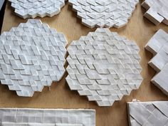 Plaster Casting of Origami Models | by EricGjerde