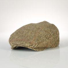 PRL The Wool Tweed Driving Cap