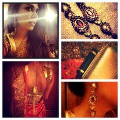 Maha Burney of Nadir Firoz Khan Photography in a Deepak Perwani blouse.