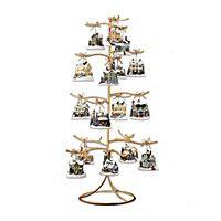 Gold Wire Ornament Tree