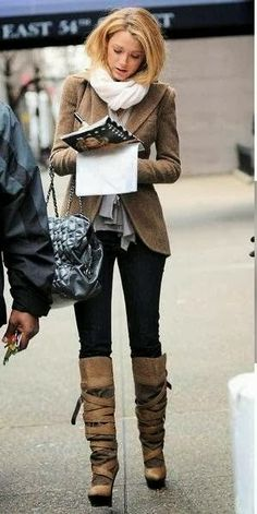 blake lively inverno look