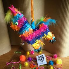 Piñata for Cats! With Itty Bitty Catnip Kitties, Catnip Coins and more. It's Cinco de Mayo Fiesta time! Ours alone. Stark Raving Cat
