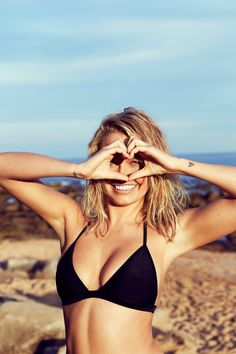 Sydney beach babe Lara Bingle is back on our fashion radar looking hotter than ever, with a swimwear collaboration for Cotton On Body. Summer Sun, Summer Of Love, Summer Time, Enjoy Summer, Summer Beach, Lara Bingle, Bikinis, Swimsuits, Bikini Swimwear