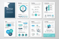Infographic Brochure Elements 10 by MPF Design on Creative Market