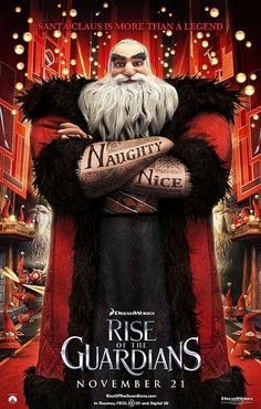Santa is my favorite out of Rise of the guardians besides jack frost. I love his tattoos!