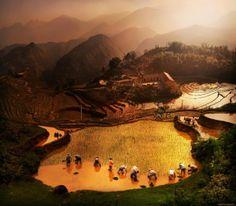 Lindas paisagens, ricas culturas