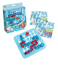 City Maze, Solo Puzzle Game.