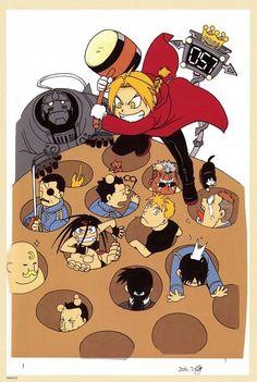 Tags: Anime, Fullmetal Alchemist, Edward Elric, Roy Mustang, Alphonse Elric