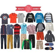 Back to School Wardrobe for Boys