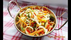 Raw Vegan Quick Pasta Salad   Rawmunchies.org   Raw Vegan Recipes