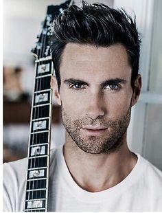 Adam Levine - I LOVE a man with a guitar