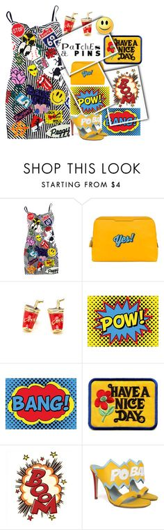 """""""Contest: Patches and Pins"""" by easy-dressing on Polyvore featuring Anya Hindmarch and patchesandpins"""