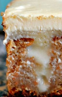 White Chocolate Carrot Poke Cake ~ It is very simple to prepare. It can be done immediately. You will require not many components to make a miracle in your kitchen