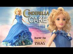 HowToCookThat : Cakes, Dessert & Chocolate | Disney Cinderella Cake - HowToCookThat : Cakes, Dessert & Chocolate