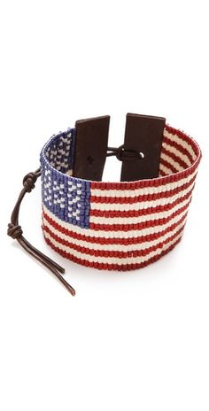 Chan Luu American Flag Bracelet - love it for July Chan Luu, 4th Of July Outfits, Fourth Of July, American Pride, American Flag, American Girl, Star Spangled, Old Glory, Bijoux Diy