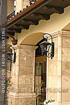 Wrought Iron Exterior Wall Lights Beautiful Chandeliers Lighting Pinterest Light Outdoor And