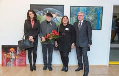 Comenius - Show The Artist In You Georg Lipinsky painting exhibition