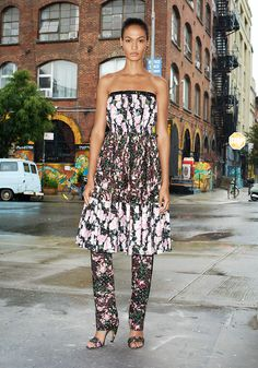 A Trendy Life.: Trend Alert : Dress Over Pants 2