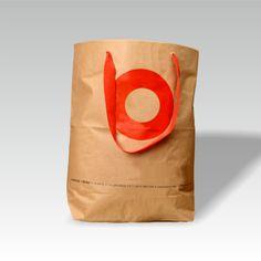 Zementsacktasche mit Tragebändern
